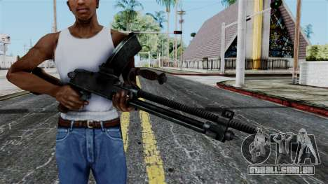 Japan Type 99 LMG from Battlefield 1942 para GTA San Andreas terceira tela