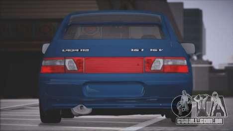 VAZ 2112 itens de Qualidade para GTA San Andreas vista direita