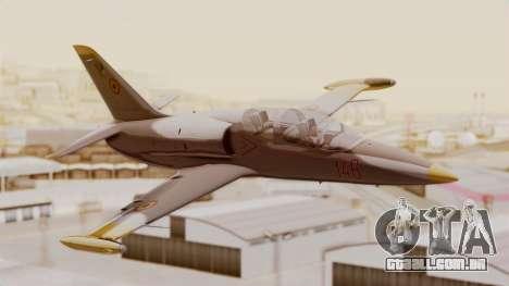 Aero L39 ZA Albatros - Nr. 146 (Romania) para GTA San Andreas vista traseira