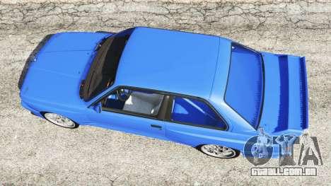 GTA 5 BMW M3 (E30) 1991 voltar vista