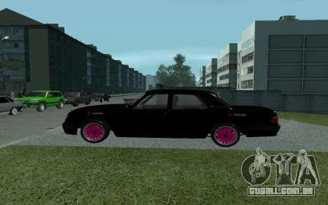 GAZ 31105 Volga para GTA San Andreas esquerda vista