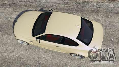 GTA 5 BMW 1M v1.1 voltar vista
