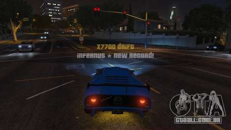 Drift HUD para GTA 5