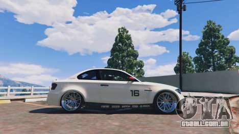 GTA 5 BMW 1M v1.0 vista lateral esquerda
