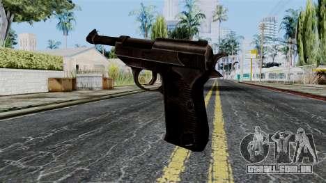 Walther P38 from Battlefield 1942 para GTA San Andreas segunda tela