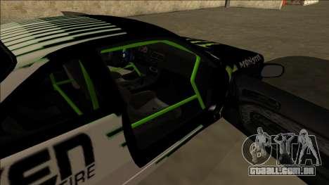 Nissan 200SX Drift Monster Energy Falken para GTA San Andreas vista inferior