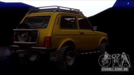 VAZ 2121 Niva Offroad para as rodas de GTA San Andreas