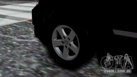 Dodge Grand Caravan 2010 para GTA San Andreas traseira esquerda vista