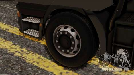 Iveco EuroStar Normal Cab para GTA San Andreas traseira esquerda vista