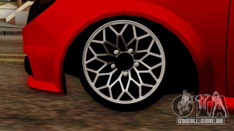 Opel Vectra C para GTA San Andreas vista direita