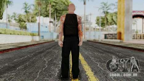 Alice Baker Old Member without Glasses para GTA San Andreas segunda tela