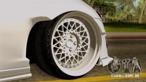 Subaru BRZ 2010 Rocket Bunny v1 para GTA San Andreas traseira esquerda vista