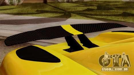 Koenigsegg Agera R 2014 para GTA San Andreas vista direita