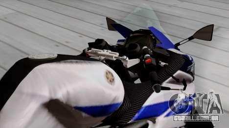Yamaha YZF R-25 GP Edition 2014 para GTA San Andreas vista traseira