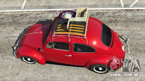 GTA 5 Volkswagen Beetle 1963 [Beta] voltar vista