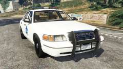 Ford Crown Victoria 1999 Police v0.9 para GTA 5