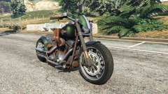 Harley-Davidson Fat Boy Lo Racing Bobber v1.1 para GTA 5
