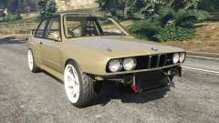 BMW M3 (E30) 1991 Drift Edition v1.0 para GTA 5