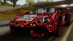 Lamborghini Aventador LP-700 Batik para GTA San Andreas