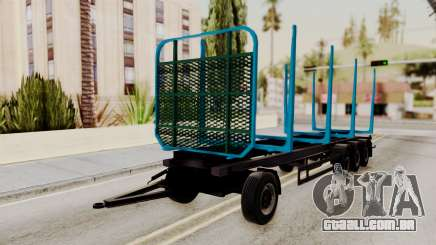 Wood Transport Trailer from ETS 2 para GTA San Andreas