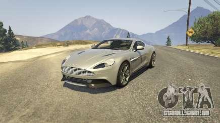 Aston Martin Vanquish V12 2015 para GTA 5