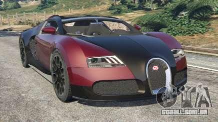 Bugatti Veyron Grand Sport v4.1 para GTA 5