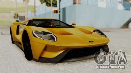 Ford GT 2016 Black Revel para GTA San Andreas