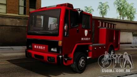 DFT-30 Tokyo Fire Department Pumper para GTA San Andreas