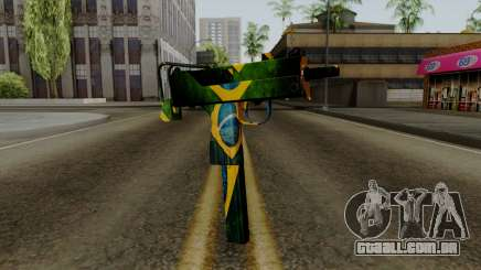 Brasileiro Micro Uzi v2 para GTA San Andreas