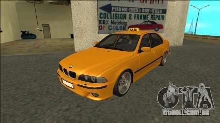 1999 BMW 530d E39 Taxi para GTA San Andreas