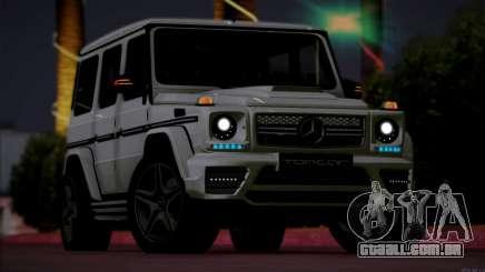 Mercedes Benz G65 AMG 2015 Topcar Tuning para GTA San Andreas
