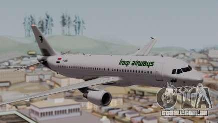 Airbus A320-200 Iraqi Airways para GTA San Andreas