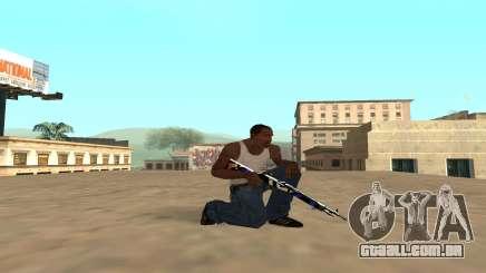 Rifle com um filhote de tigre para GTA San Andreas
