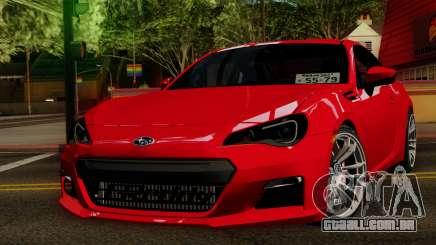 Subaru BRZ 2010 para GTA San Andreas