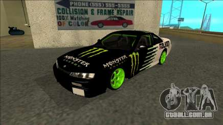 Nissan 200SX Drift Monster Energy Falken para GTA San Andreas