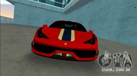 Ferrari 458 Especial para GTA Vice City