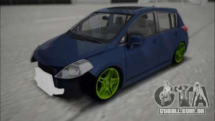 Nissan Tiida Drift Korch para GTA San Andreas