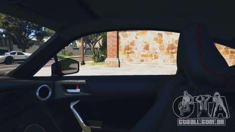 GTA 5 Toyota GT-86 Rocket Bunny v1.5 traseira direita vista lateral
