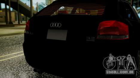 Audi A3 para GTA San Andreas vista direita