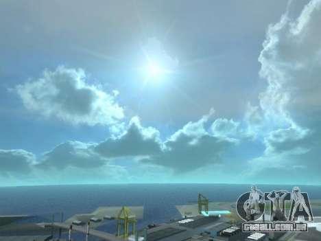 Realista Skybox HD 2015 para GTA San Andreas terceira tela