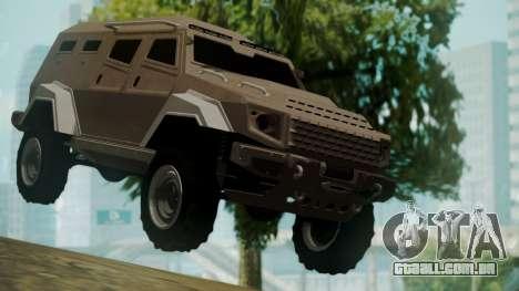 GTA 5 HVY Insurgent para GTA San Andreas
