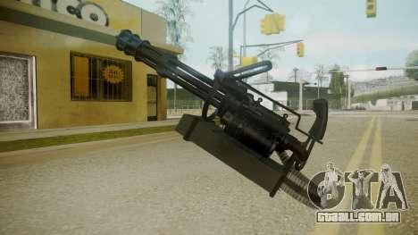 Atmosphere Minigun v4.3 para GTA San Andreas terceira tela