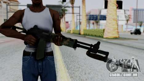 AK-47 from RE6 para GTA San Andreas terceira tela