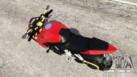 GTA 5 Honda CB1000R voltar vista