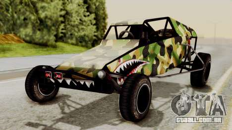 Buggy Camo Shark Mouth para GTA San Andreas