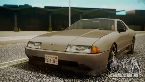 Elegy Hell Cat para GTA San Andreas traseira esquerda vista