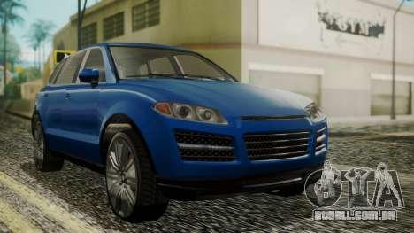 GTA 5 Obey Rocoto IVF para GTA San Andreas