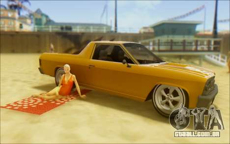 Cheval Picador Surfista para vista lateral GTA San Andreas