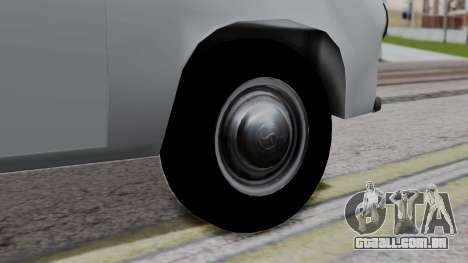 Syrena R20 v1.0 para GTA San Andreas traseira esquerda vista