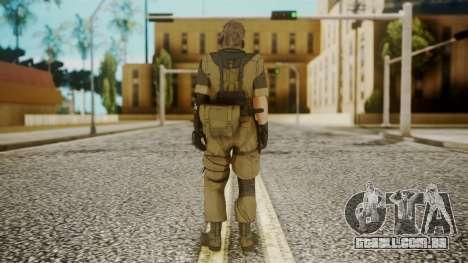 Venom Snake Other Arm para GTA San Andreas terceira tela